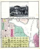 Map 004 - Oakland 4, Alameda County 1878
